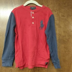 Polo Thermal Long Sleeve Shirt